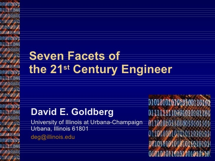 Seven Facets of the 21st Centruy Engineer