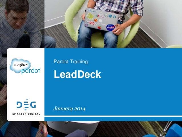 Pardot Training: LeadDeck