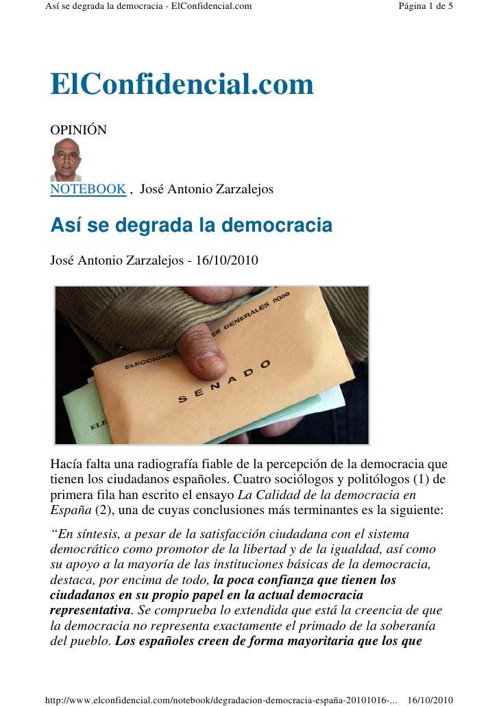 Así se degrada la democracia - ElConfidencial.com                                   Página 1 de 5      ElConfidencial.com ...