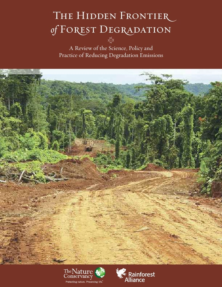 The Hidden Frontier of Forest Degradation      A Review of the Science, Policy and  Practice of Reducing Degradation Emiss...