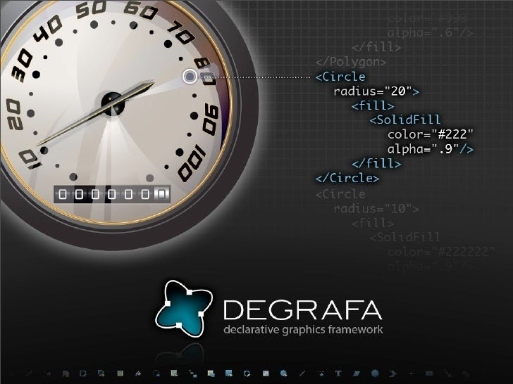 What are we talking about?  introduction to Degrafa  some of the basics  top 5 features  samples  future stuff?