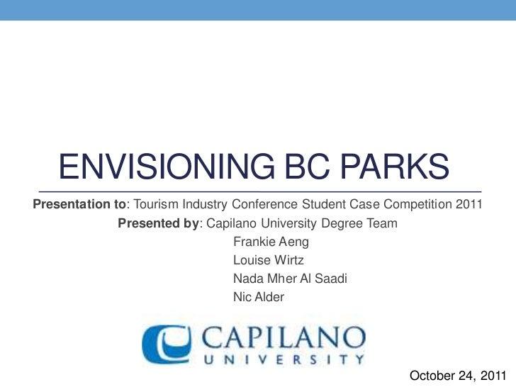 2011 Case Competition: Capilano U Degree (Degree Winners)