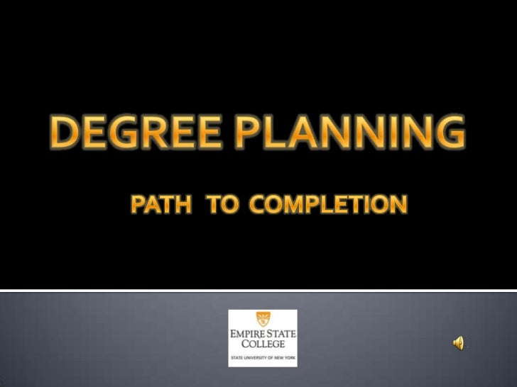 Degree planning