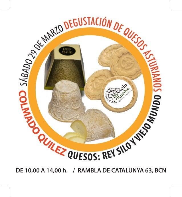 Degustaciones Quesos Asturianos Colmado Quilez