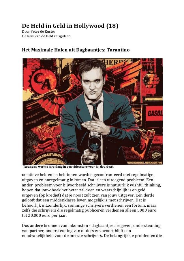 De Held in Geld in Hollywood (18) Door Peter de Kuster  De Reis van de Held reisgidsen ...
