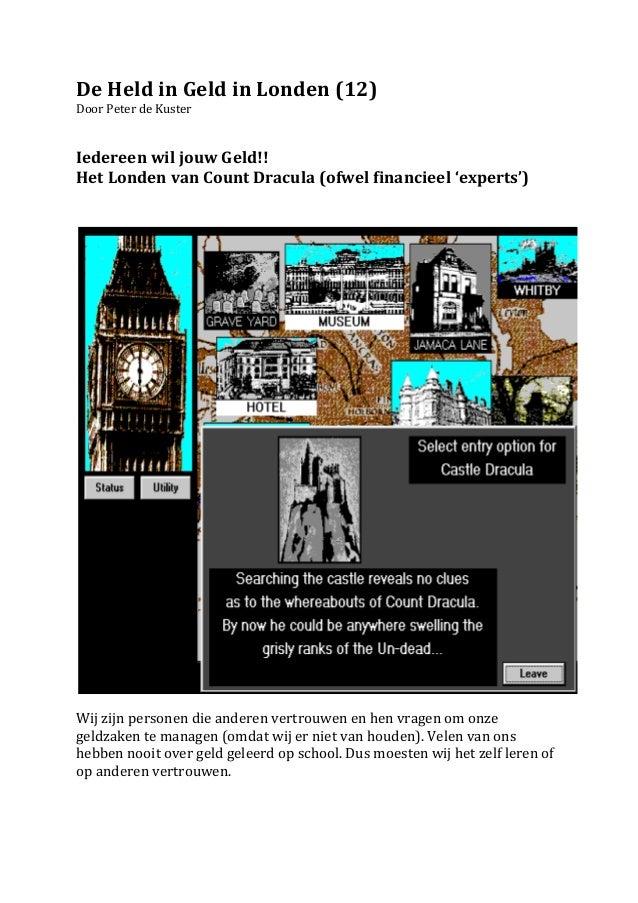 De Held in Geld in Londen (12.1)