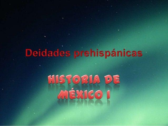 Cosmovisión prehispánica • •