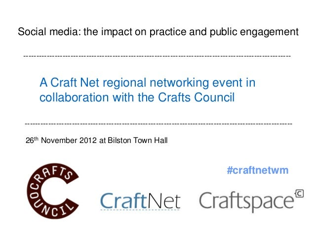 Social media: the impact on practice and public engagement ---------------------------------------------------------------...