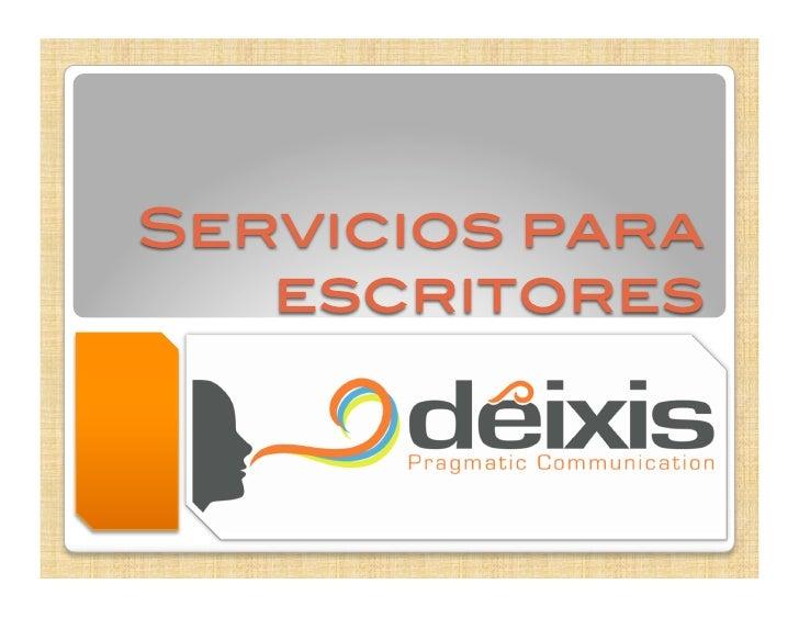 Deixis ofrece diversos servicios para acompañarlo en el            proceso de terminación de su obra.  A continuación, enc...