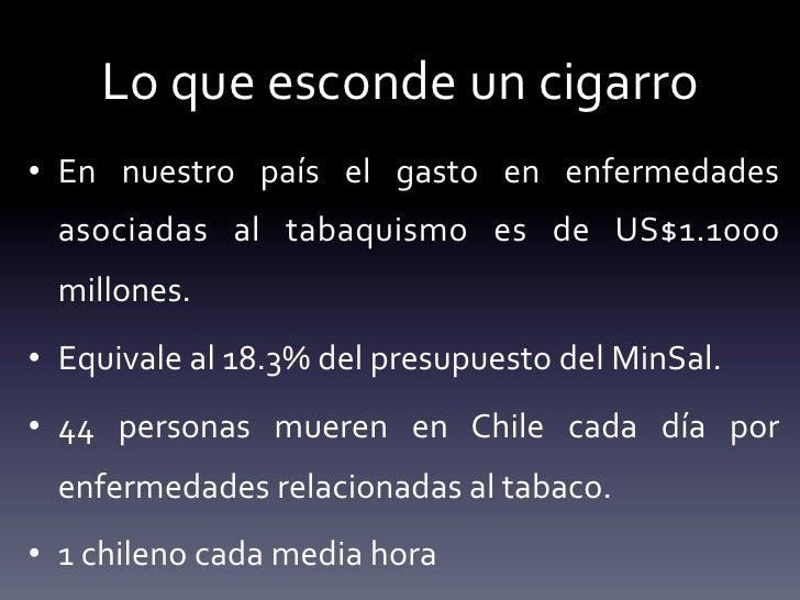 El levantamiento de la dependencia de tabaco