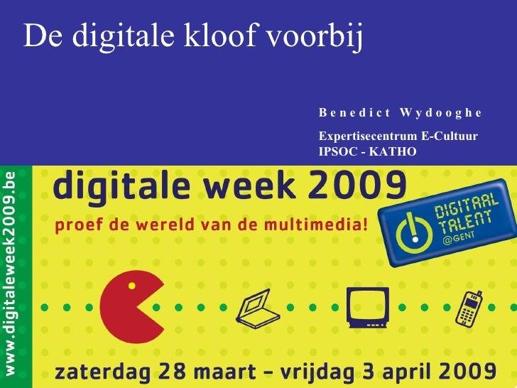 De digitale kloof voorbij
