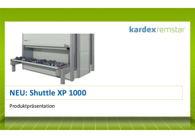 NEU: Shuttle XP 1000 Produktpräsentation