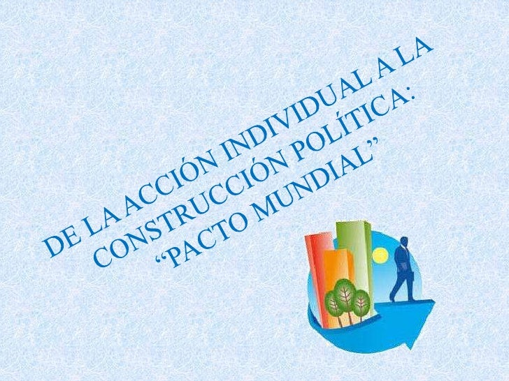 De la acción individual a la construcción política