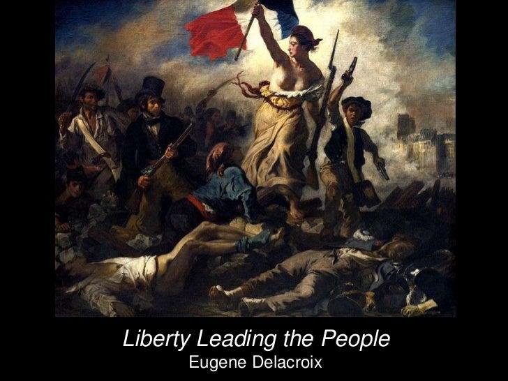 Liberty Leading the People      Eugene Delacroix