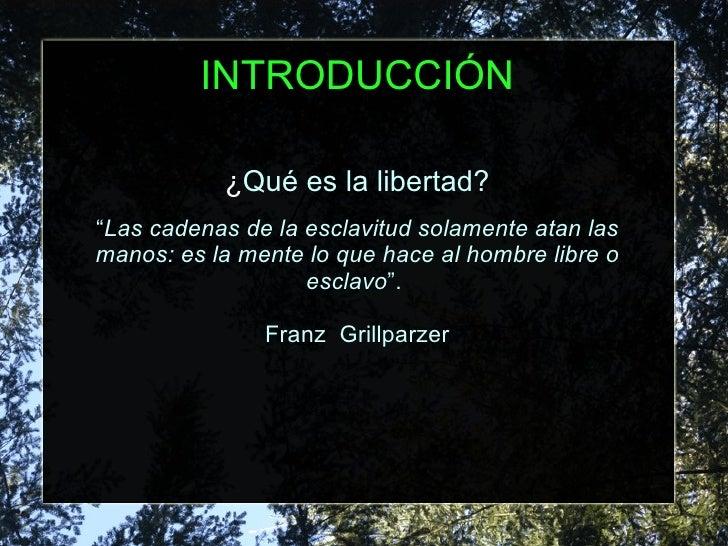 Franz Grillparzer libertad