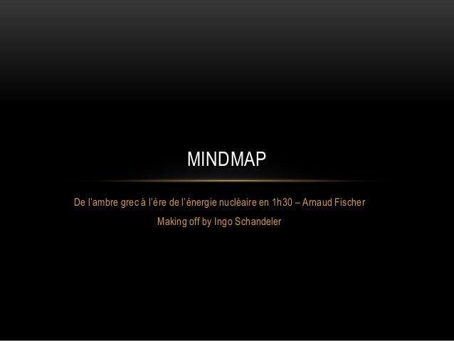 De l'ambre grec à l'ère de l'énergie nucléaire en 1h30 – Arnaud Fischer Making off by Ingo Schandeler MINDMAP