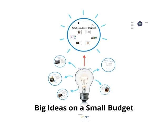 UD - Big Ideas on a Small Budget