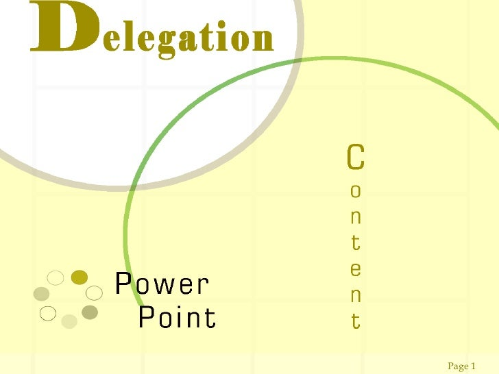Delegation powerpoint609