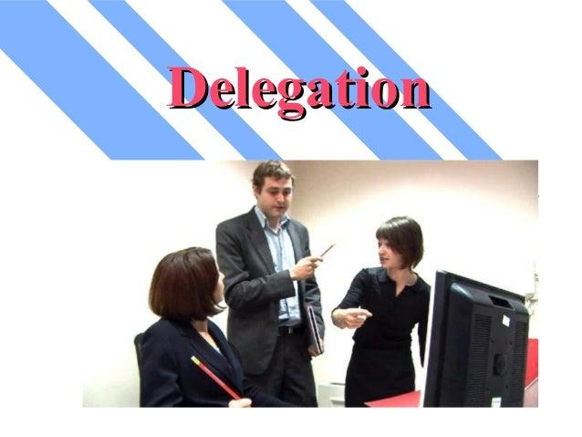 Delegation msc