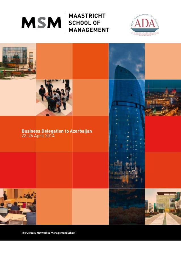 Business to Business delegation to Azerbaijan!