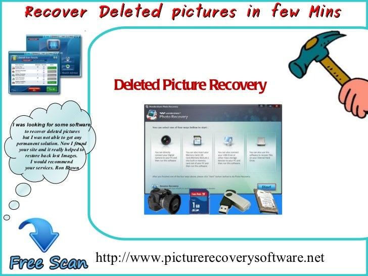 Deletedpicturerecovery