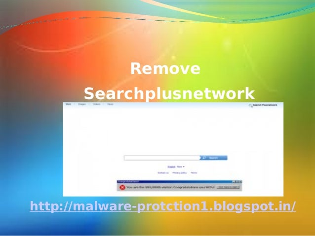 Delete searchplusnetwork : how to delete Searchplusnetwork