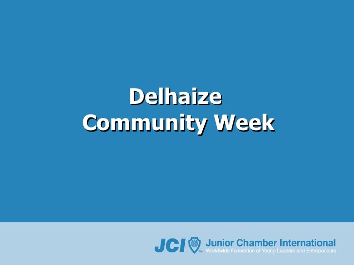 Delhaize  Community Week