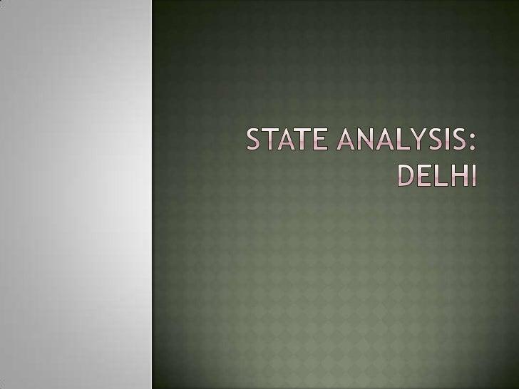 Delhi city analysis