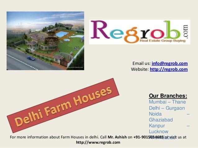 Email us: info@regrob.com Website: http://regrob.com  Our Branches: Mumbai – Thane Delhi – Gurgaon Noida – Ghaziabad Kanpu...