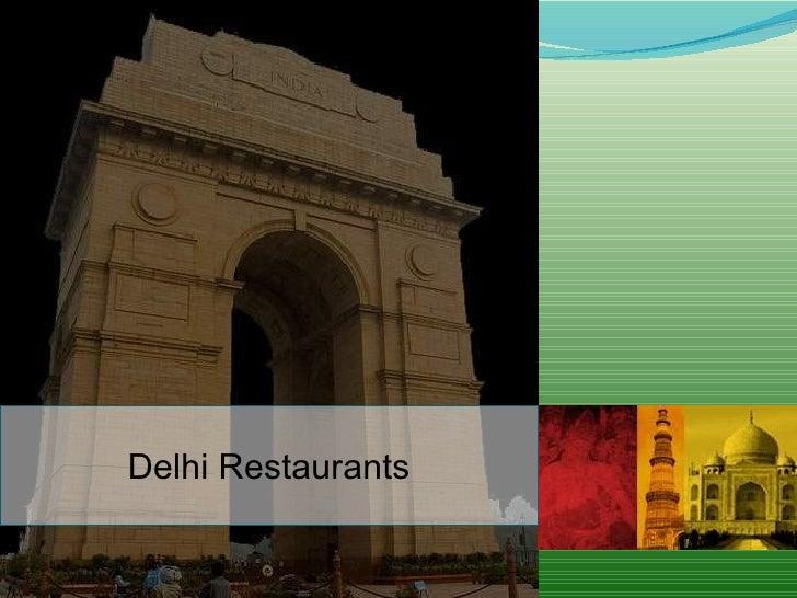 Delhi Restaurants