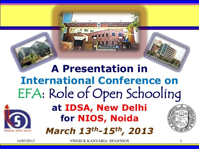 Mathematics Evaluation of Open and Distant Learners/ ODL (EFA@NIOS)