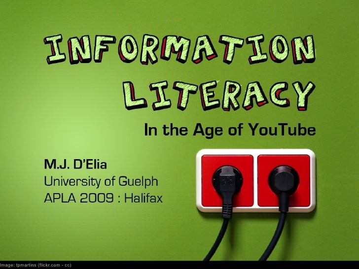 Information Literacy in the Age of YouTube