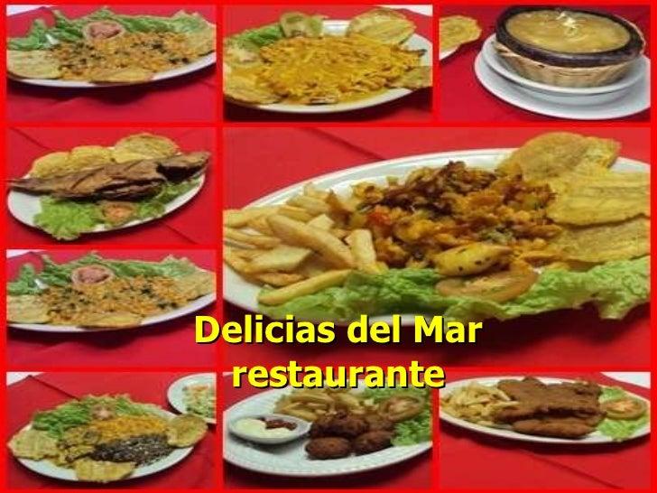 Delicias del Mar restaurante