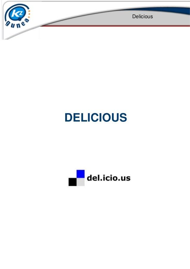 Delicious DELICIOUS