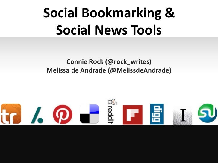 Delicious pinterest and other social bookmarking and news tools