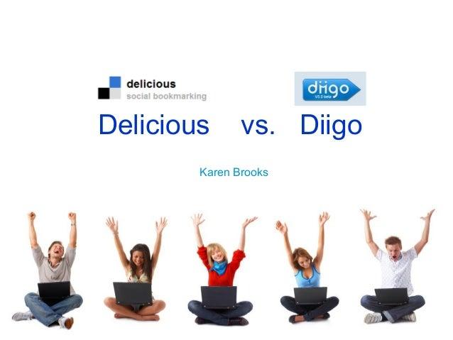 Delicious vs diigo
