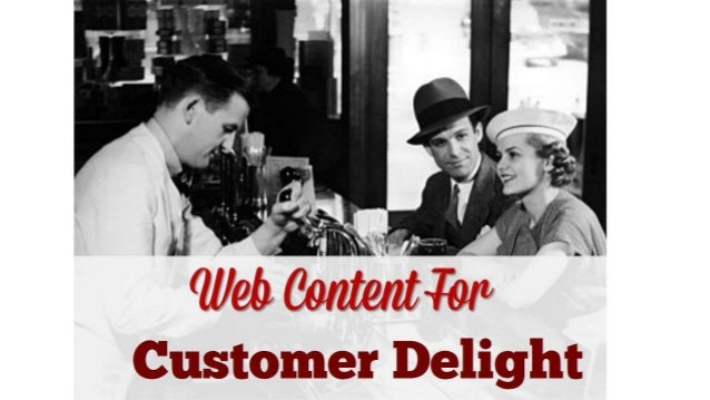 Web Content For Customer Delight