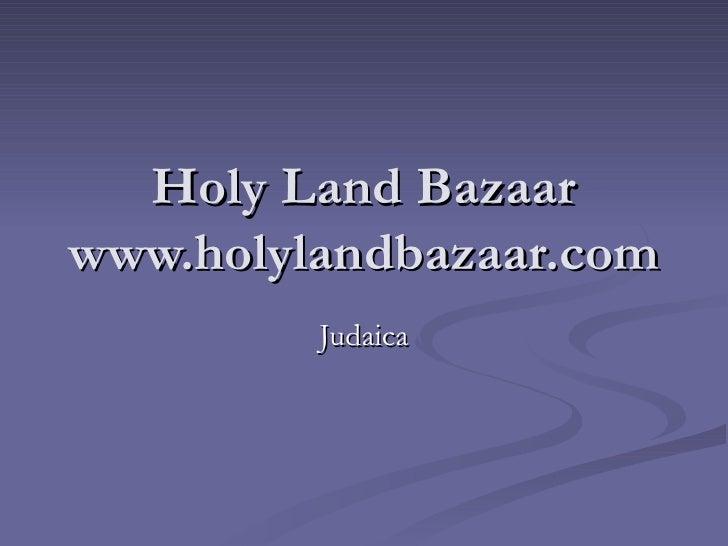 Delilah'S Bazaar Judaica