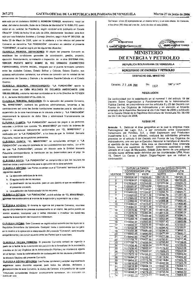 Delimita El áRea GeográFica En La Cual Las Empresas Mixtas Petroleras
