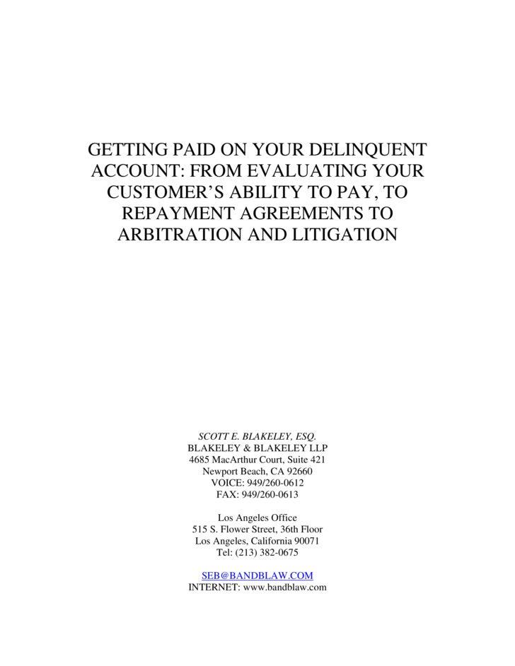 Delinquent Account Handout.Doc1