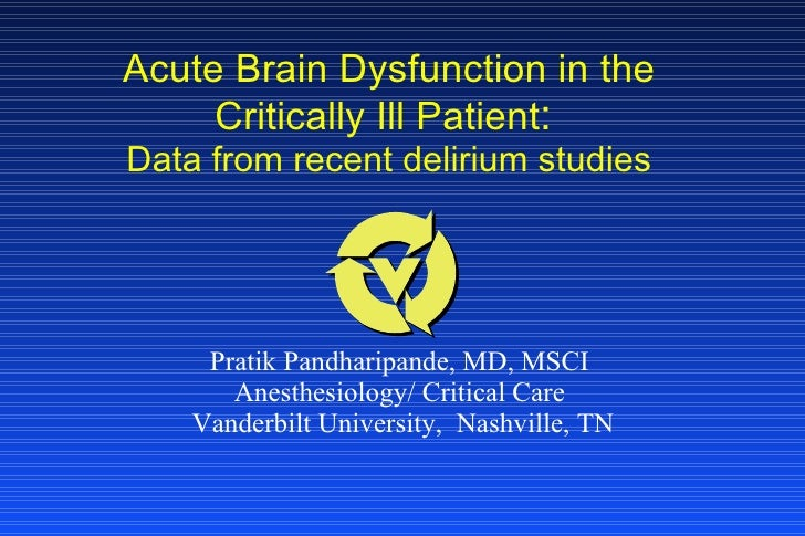 Delirium in critically ill patients bogota043009