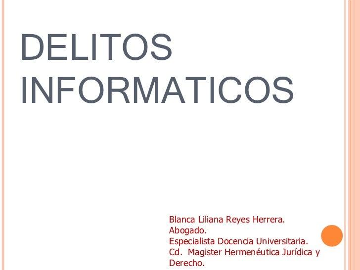 Delitos informaticos colombia