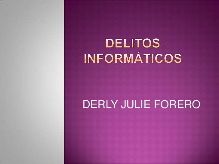 DERLY JULIE FORERO