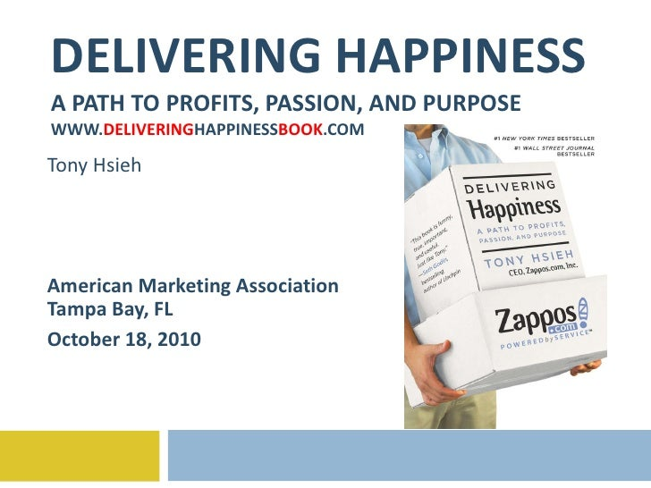Delivering Happiness - AMA Tampa 10-18-10