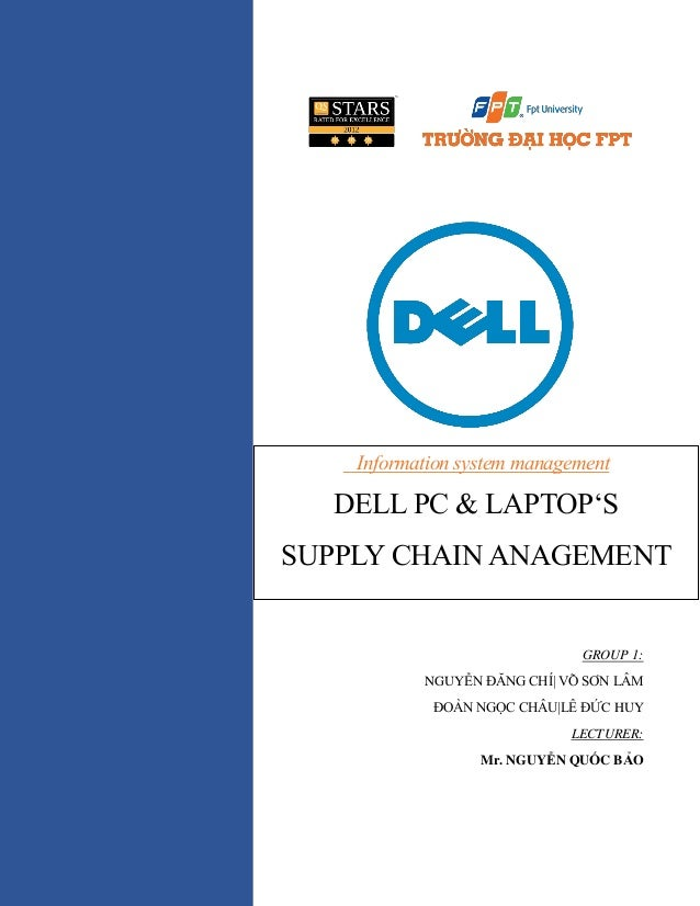case study dell distribution and supply chain innovation Reduce production and distribution costs, and merge whirlpool and maytag supply chains, the company had to create leaner  whirlpool supply chain case study.