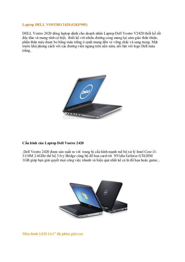 Dell Vostro 2420 GKF905 Grey i3 3210M GT620 1GB giá shock tại Thiên Minh