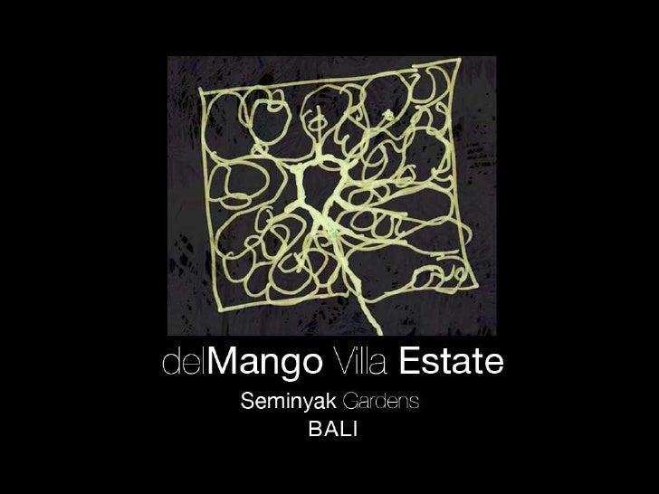 Del Mango  Seminyak  Bali