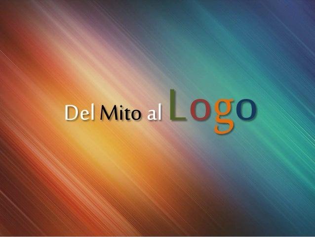 Del Mito al Logo