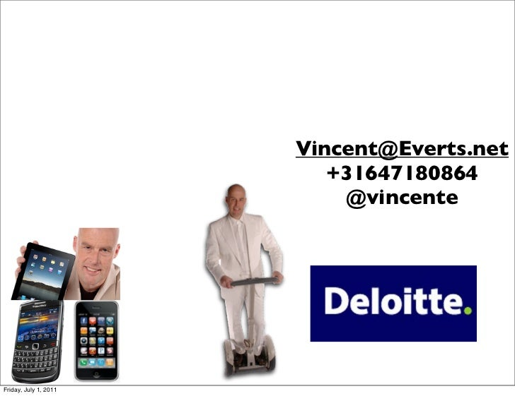 Deloit the next step in corporate IT