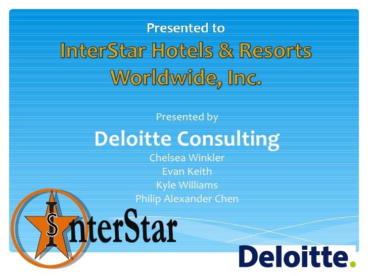 Deloitte Case Competition Presentation